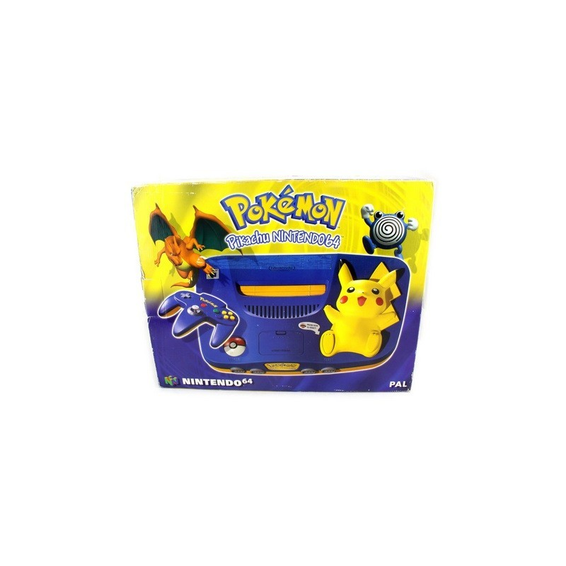 console nintendo 64 edition pikachu gamespirit. Black Bedroom Furniture Sets. Home Design Ideas