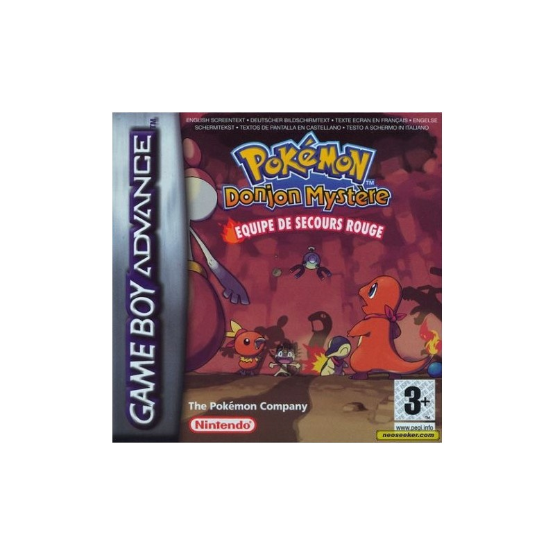 Pok?mon Mystery Dungeon : Red Rescue Team